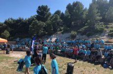 raid bleu raid blanc unss activites sportives sport etablissement saint joseph limoux