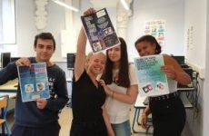 les eleves de saint joseph lancent le projet Eco Ecole