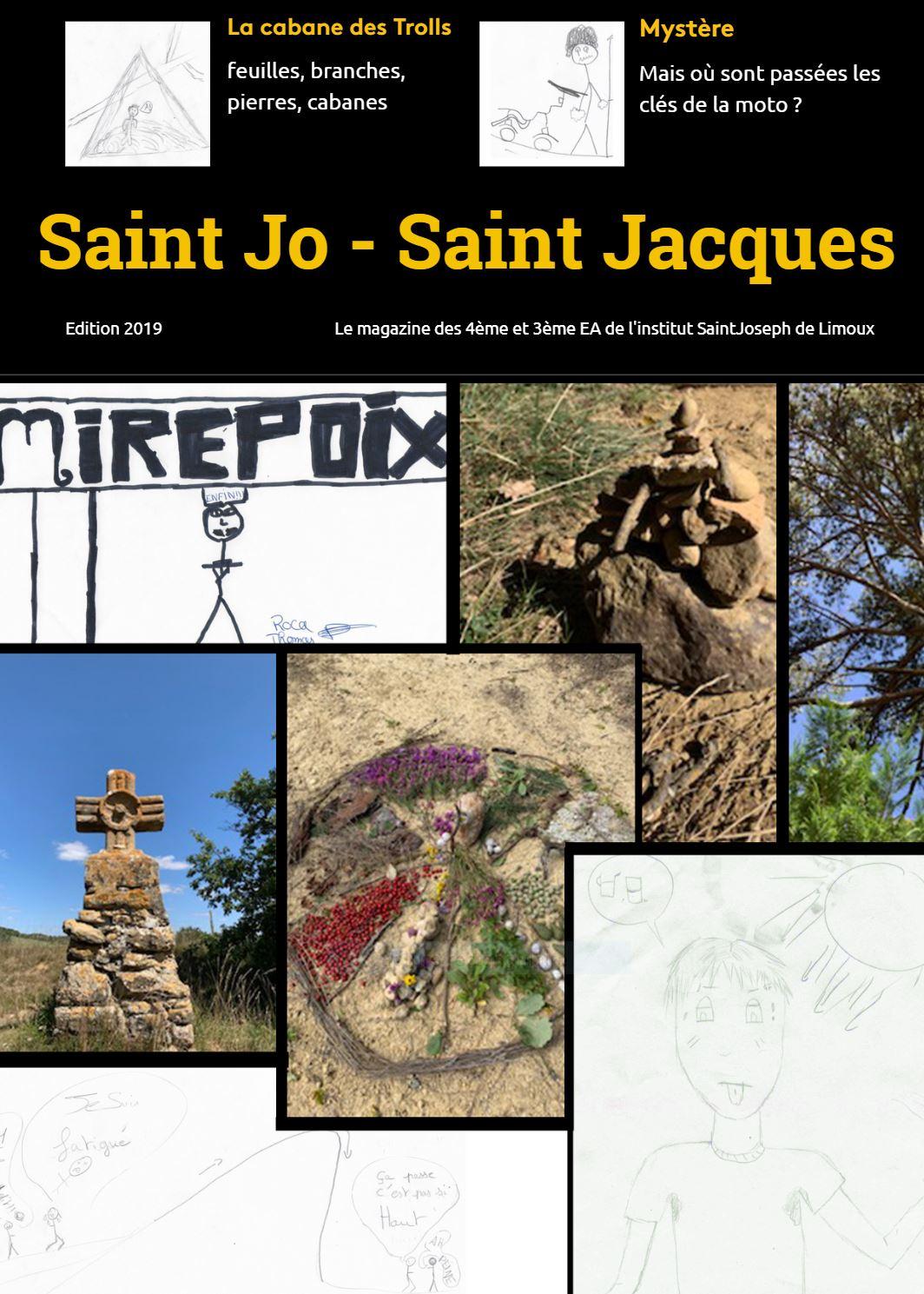 magazine des marcheurs sur les chemins de saint jacques
