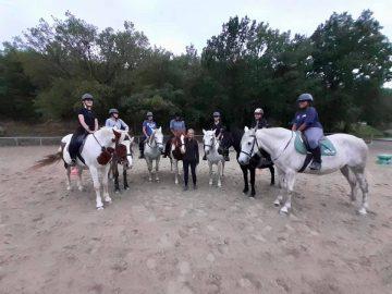 equitation lycée saint Joseph limoux option au bac hippologie cheval